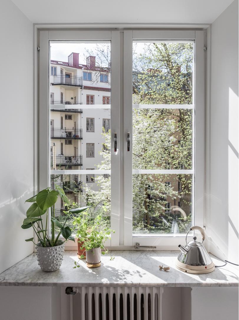 Aurinkoa, sunnuntaifiilis ja keittiöhaaveita