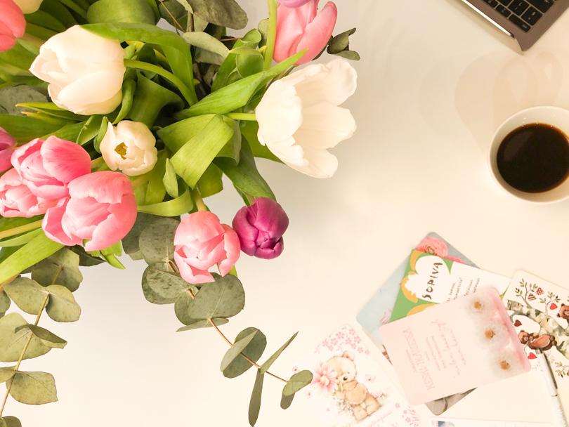 Ystävänpäiväkortit ja vapaapäivä