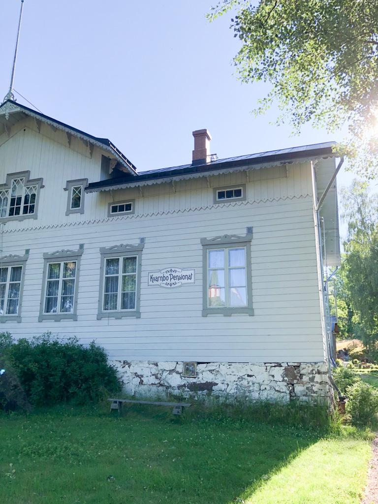 kvarnbo pensionat ahvenanmaa on 1800-luvun vanha talo